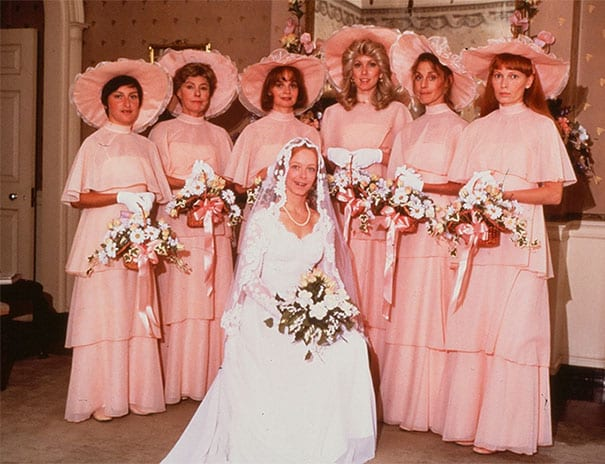 The Most Ridiculous Bridesmaids Dresses Ever